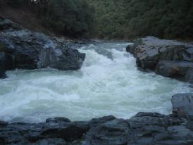 """The hole""--Maytag Rapid on the North Fork of the Yuba"